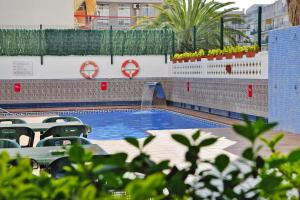The swimming pool at or near Apartments home Casablanca Suites Calella - CON021010-SYA
