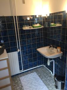 A bathroom at Bandholm