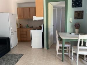 Een keuken of kitchenette bij Anastasios Olive Garden Apartments