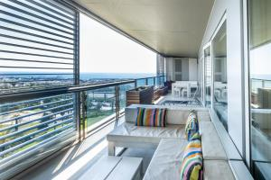 A balcony or terrace at Rent Top Apartments Beach-Diagonal Mar