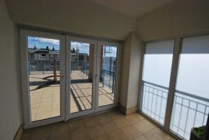 A balcony or terrace at Arpad Bridge Apartments