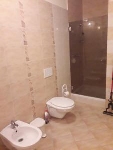 A bathroom at Apartmaji Gabrijela