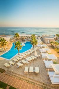 A view of the pool at Parthenis Beach, Suites by the Sea or nearby