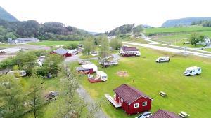 Vista aerea di Wathne Camping