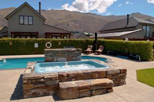 The swimming pool at or near Wanaka Luxury Apartments