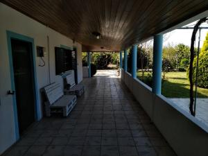 A balcony or terrace at Quinta Dois D´s