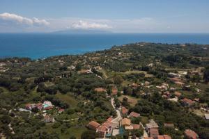 A bird's-eye view of Pernari Apartments