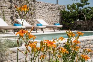 The swimming pool at or near Villa Antiqua