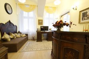Гостиная зона в Classic suite