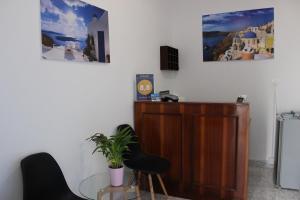 The lobby or reception area at Spiridoula Villa