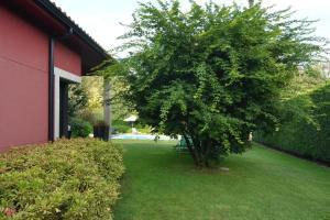 A garden outside Chalet Las Encinas