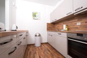 Küche/Küchenzeile in der Unterkunft Apartments am Brandenburger Tor