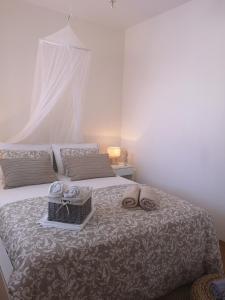 Un ou plusieurs lits dans un hébergement de l'établissement Villa Sky