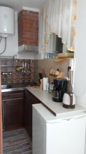 A kitchen or kitchenette at Apartments Marina