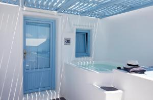 A bathroom at Dreams Luxury Suites