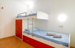 A bunk bed or bunk beds in a room at La Platera
