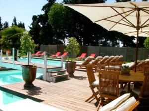 The swimming pool at or near DreamSuite.Aix