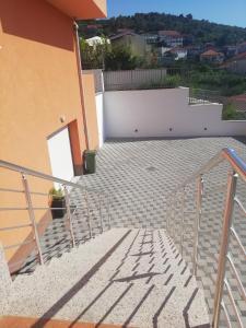 Balkón nebo terasa v ubytování Tomena apartments
