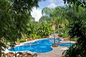 The swimming pool at or near Palmar del Sol by Riviera Maya Suites