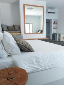 Cama o camas de una habitación en Smaro Studios