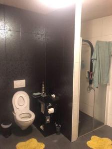 A bathroom at Július végi 14 nap nyaralás
