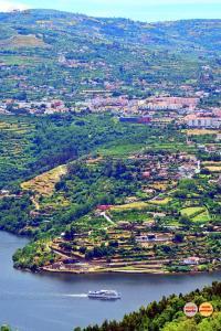 A bird's-eye view of Alojamento da Ribeirinha