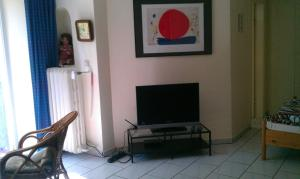 A television and/or entertainment center at Apartment Dahlem FU