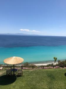 Vista generica sul mare o vista sul mare dall'interno del residence