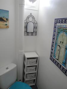 A bathroom at Almeria Garden Apartment