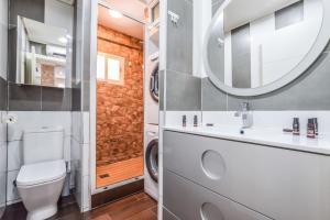 Kupatilo u objektu COZY APTO IN VILLAVERDE-MADRID AREA