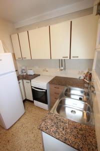 Dapur atau dapur kecil di Apartment Escor