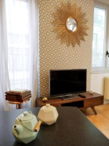 TV/Unterhaltungsangebot in der Unterkunft Apartamentos Moratín Las Letras