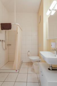 A bathroom at Anstatthotel.ch Hochdorf