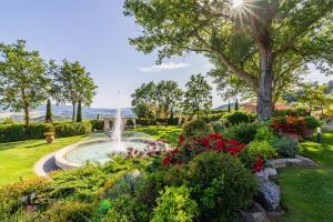 A garden outside Tenuta Quadrifoglio