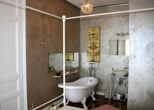 A bathroom at Apartment Barcelona Center