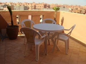 Un balcón o terraza de Appartement Aïda