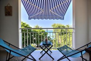 Studio vue et accès mer pour séjour romantique