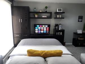 Preciosa y espaciosa suite