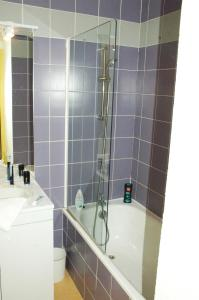 A bathroom at Résidence Les Adrets de Peyragudes