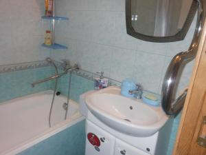 A bathroom at Apartaments LiS 2