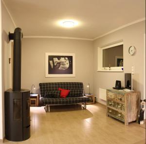Area tempat duduk di Apartman Prague