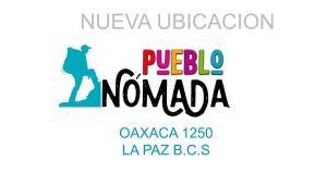 CAMBIO DE DIRECCION pueblo nomada