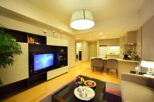 A television and/or entertainment center at Somerset Heping Shenyang
