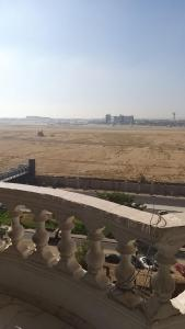 Hotel apartments in front of Cairo International Airport