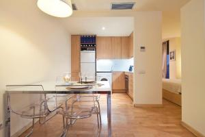 Ett kök eller pentry på Urquinaona