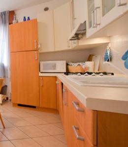 Kuchyň nebo kuchyňský kout v ubytování Residence Benidorm