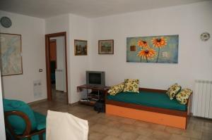 A seating area at Villa Regina Enrica