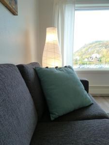 Ein Bett oder Betten in einem Zimmer der Unterkunft Lilland Hotell Apartments