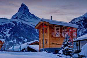 Chalet Schwalbennest during the winter