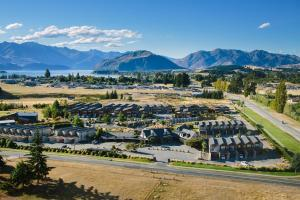 A bird's-eye view of Oakridge Resort Lake Wanaka